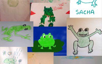 Un concours de grenouilles …